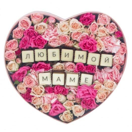 Любимой маме 323: букеты цветов на заказ Flowwow