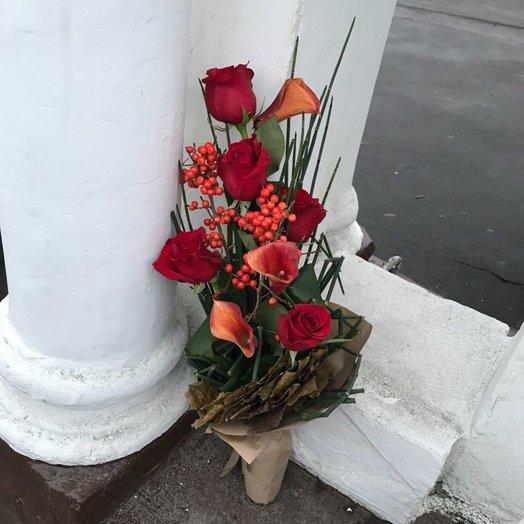 Мужской букет: букеты цветов на заказ Flowwow