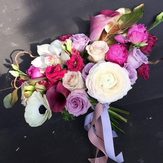 Буря эмоций: букеты цветов на заказ Flowwow
