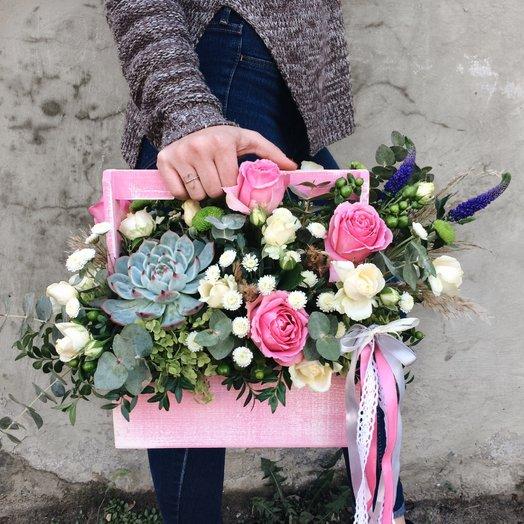 Волшебный ящик: букеты цветов на заказ Flowwow