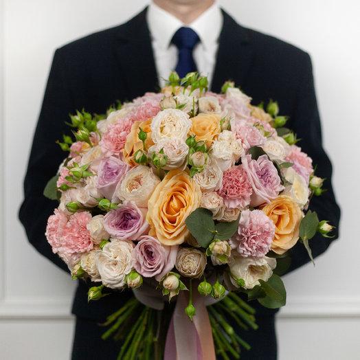 Букет Peach: букеты цветов на заказ Flowwow