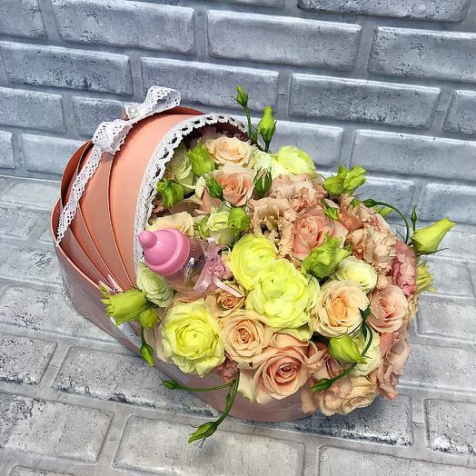 Люлька с цветами: букеты цветов на заказ Flowwow