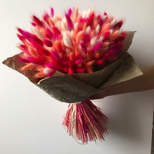 Букет из лагуруса: букеты цветов на заказ Flowwow