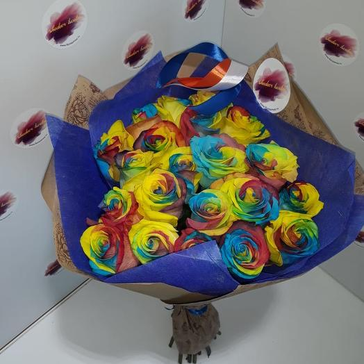 Радужное утро: букеты цветов на заказ Flowwow