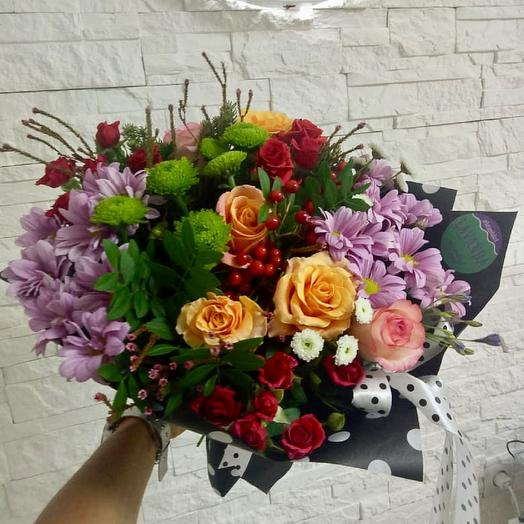 "Букет ""Осенние краски"": букеты цветов на заказ Flowwow"