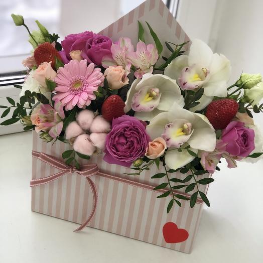 Письмо Первое свидание: букеты цветов на заказ Flowwow