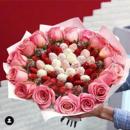 Букет «Нежность»: букеты цветов на заказ Flowwow