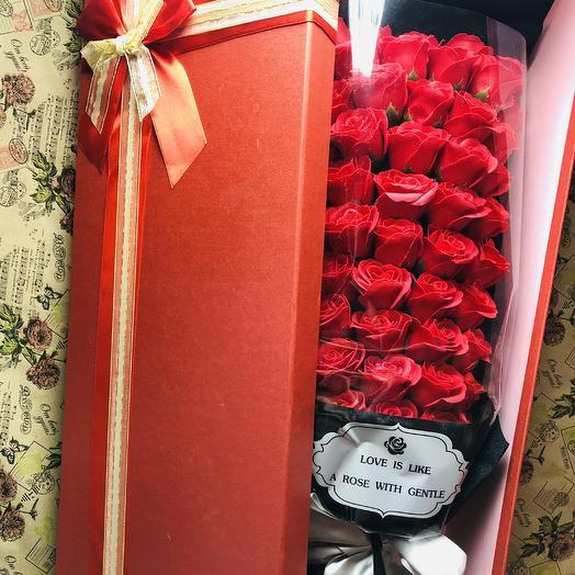 Букет из мыла: букеты цветов на заказ Flowwow
