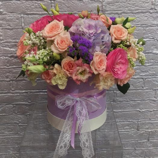 Сиреневый мусс: букеты цветов на заказ Flowwow