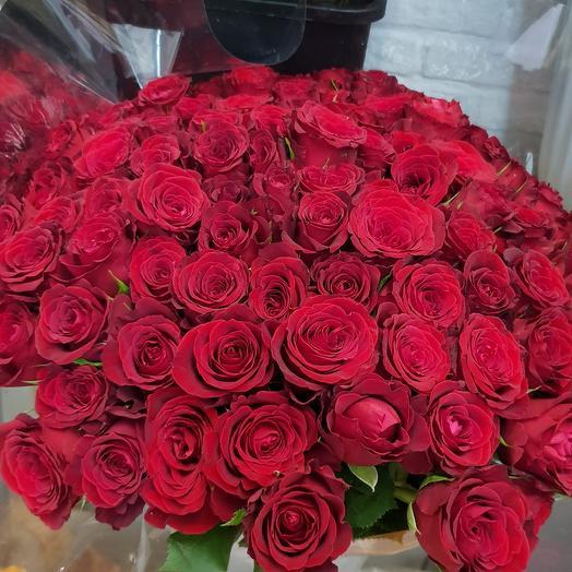 Охапка страсти: букеты цветов на заказ Flowwow