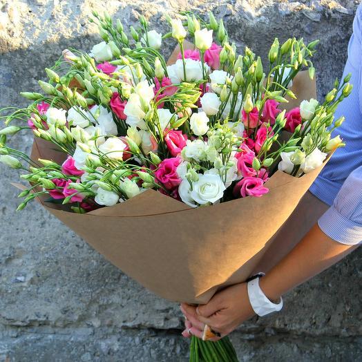 Эустома микс: букеты цветов на заказ Flowwow
