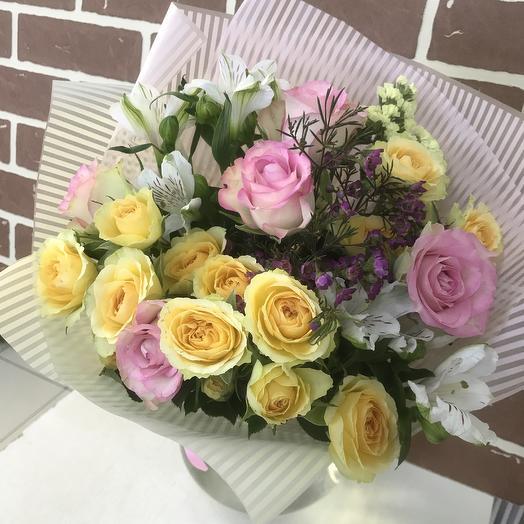 Нежность для тебя: букеты цветов на заказ Flowwow