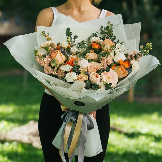 Загадочная нежность: букеты цветов на заказ Flowwow