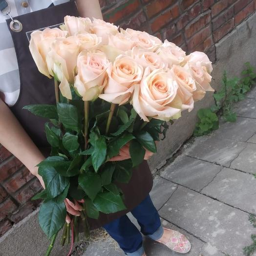 "Букет из роз ""Тиффани"": букеты цветов на заказ Flowwow"