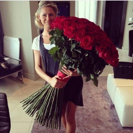 Розы Фридом: букеты цветов на заказ Flowwow