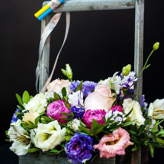 Ящик к 1 сентября: букеты цветов на заказ Flowwow