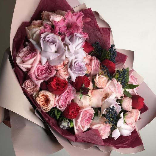 Ягодные нотки: букеты цветов на заказ Flowwow