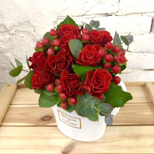 Брызги страсти: букеты цветов на заказ Flowwow