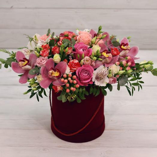 Бонет Велюр: букеты цветов на заказ Flowwow