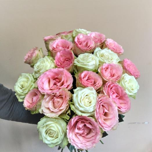 """Букет """"Ванильное небо"""": букеты цветов на заказ Flowwow"""