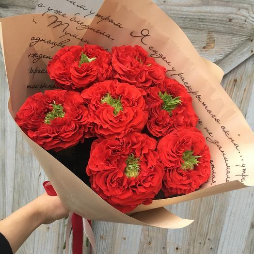 Red Monster: букеты цветов на заказ Flowwow