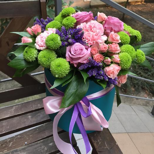Коробочка для Мамочки: букеты цветов на заказ Flowwow