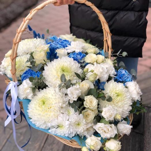 Голубая мечта: букеты цветов на заказ Flowwow