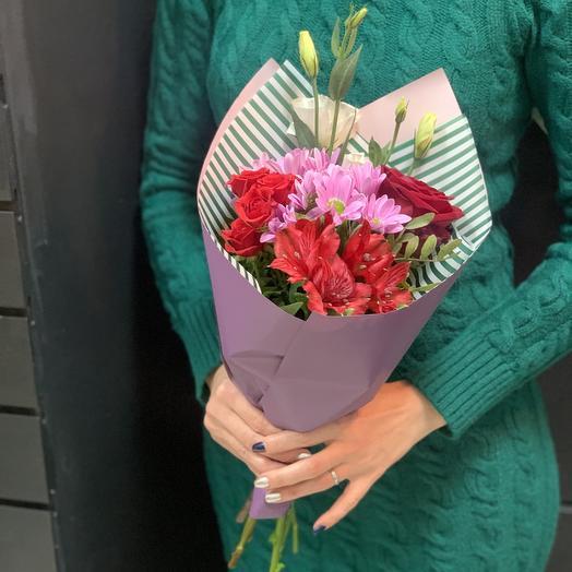 Букет комплимент «вишня»: букеты цветов на заказ Flowwow