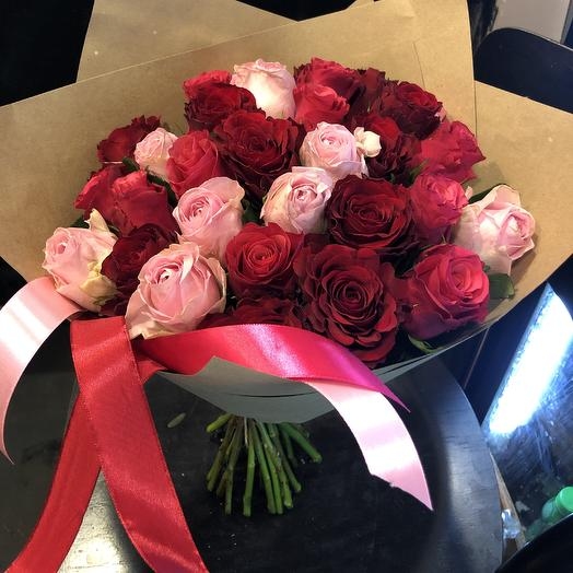 Кенийская любовь: букеты цветов на заказ Flowwow
