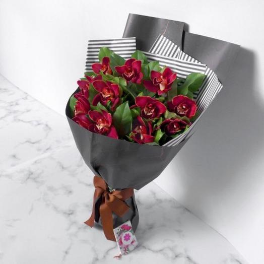 "БУКЕТ  ""ДИКАЯ ОРХИДЕЯ"": букеты цветов на заказ Flowwow"