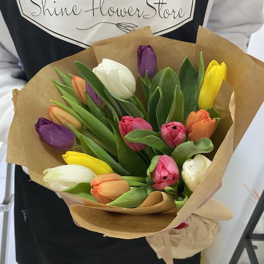 Радужный: букеты цветов на заказ Flowwow