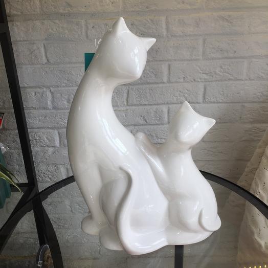 Керамические котики: букеты цветов на заказ Flowwow