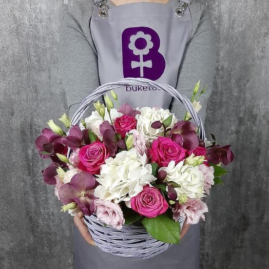 Мечтательница: букеты цветов на заказ Flowwow