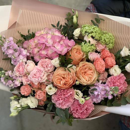 Букет «Восторг»: букеты цветов на заказ Flowwow