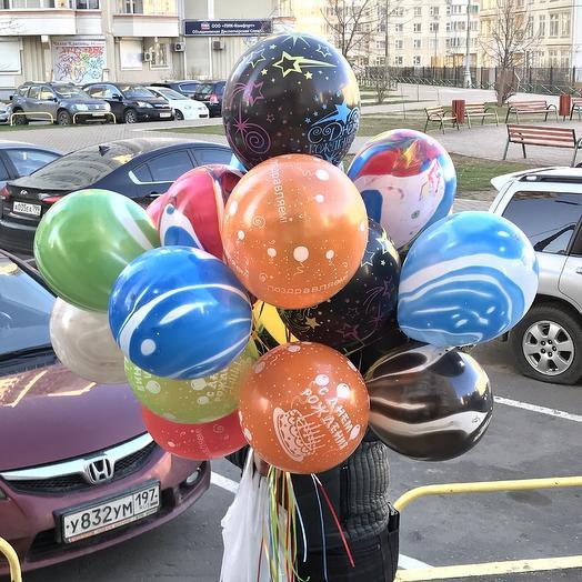 19 воздушных шаров