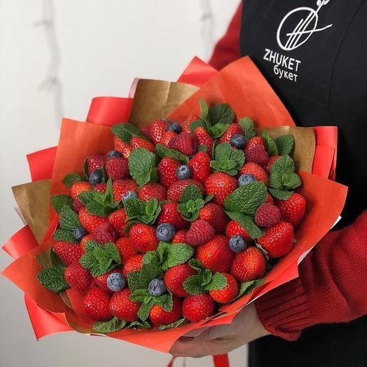 Ягодный рай: букеты цветов на заказ Flowwow