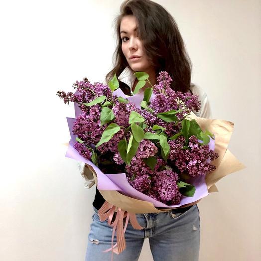 Охапка сирени: букеты цветов на заказ Flowwow