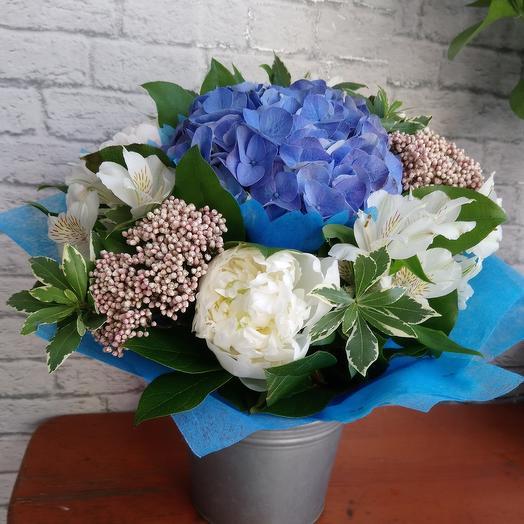 Голубой бриз: букеты цветов на заказ Flowwow