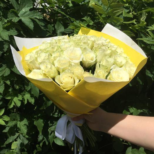 Белый букет: букеты цветов на заказ Flowwow