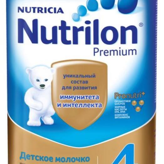 Смесь молочная сухая Nutrilon Premium 4 С 18 месяцев 800 гр