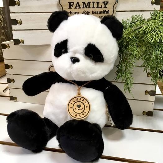 Панда Пушистое Сердце