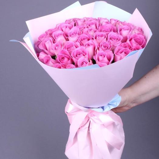 35 роз Аква премиум (доп. промокод, см. условие акции)
