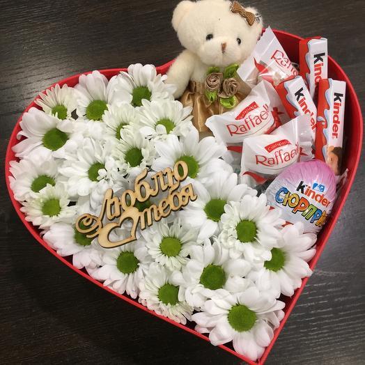Цветы в коробке 0005425