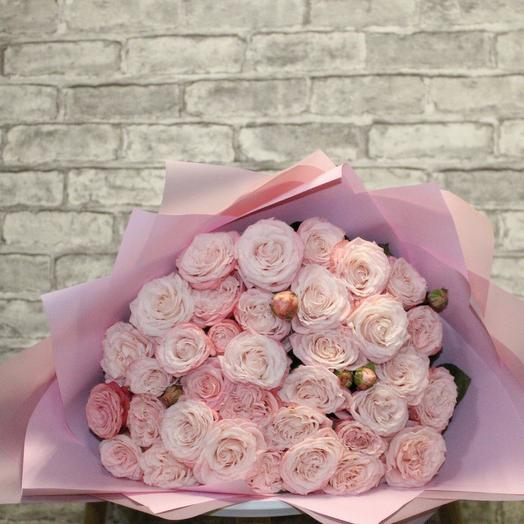 Букет из 19 роз Бомбастик