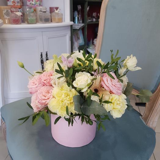 """Цветы в коробке """"Весна"""""""