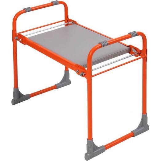 Скамейка садовая Nika Скамейка Перевертыш с мягким сиденьем, оранжевый