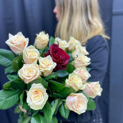 Букет из роз «Для любимой»