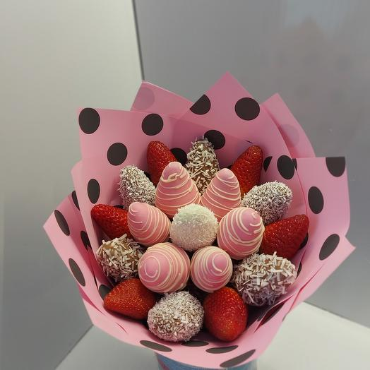 A Bouquet Of Polka Dots