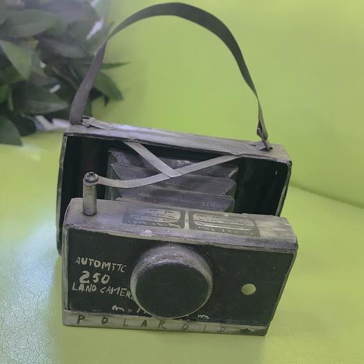 Фотоаппарат металический старинный