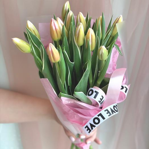 Тюльпаны в букеты